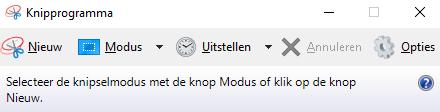 Windows Knipprogramma